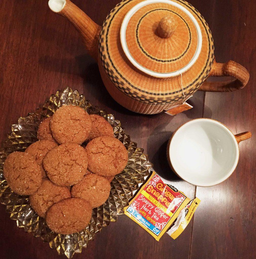 Delicious Quinoa Ginger Molasses Cookie