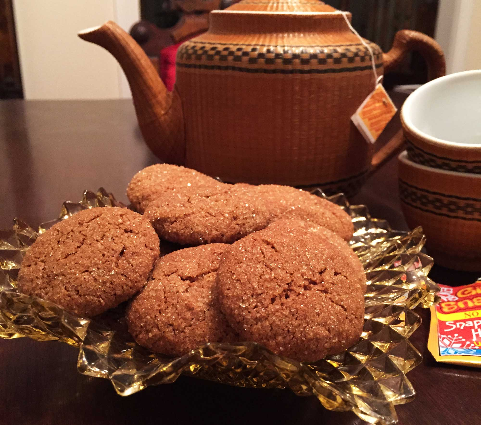 Delicious Quinoa Ginger Molasses Cookie